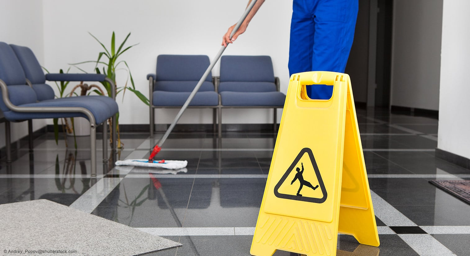 Bodenbelag Reinigung